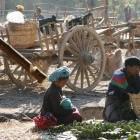Pa O au marché de Nyaungshwe.  Photo Marchés d'Asie.