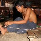 Atelier de laque. Photo Marchés d'Asie.