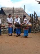 Nouvel an Lahu Shi, août 2007. Photo Marchés d'Asie.