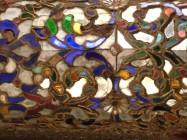 Mosaïque, verre et miroir