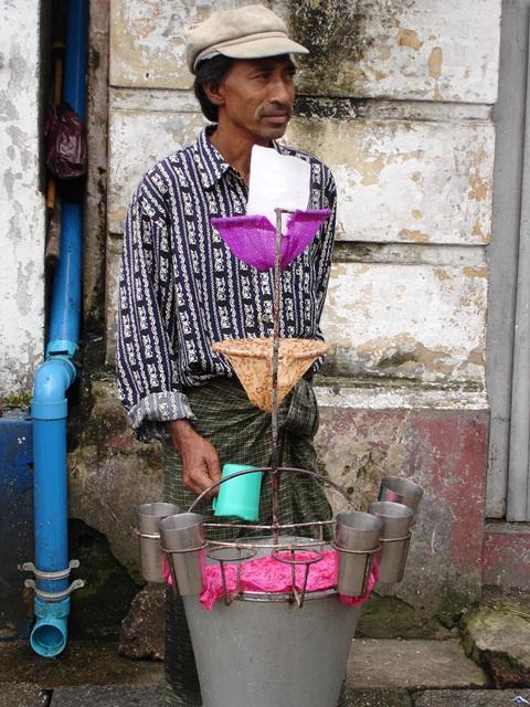 Vendeur d'eau fraiche