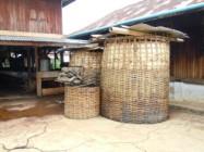 Fermentation des feuilles de thé. Photo Marchés d'Asie.