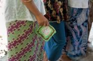 Atelier de crochetage. Photo Marchés d'Asie.