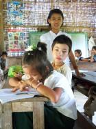 L'école du village.