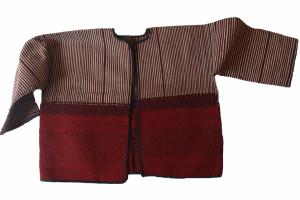 Veste Kachin et coton et poils d'animaux. Photo Marchés d'asie.